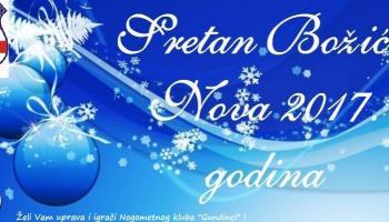 Sretan i blagoslovljen Božić i uspješna nova 2017.godina