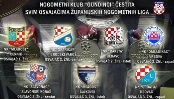 Čestitke svim prvacima županijski nogometnih liga!